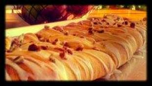 Easy Raspberry Cream Cheese Danish/Coffee Cake/Pie Recipe