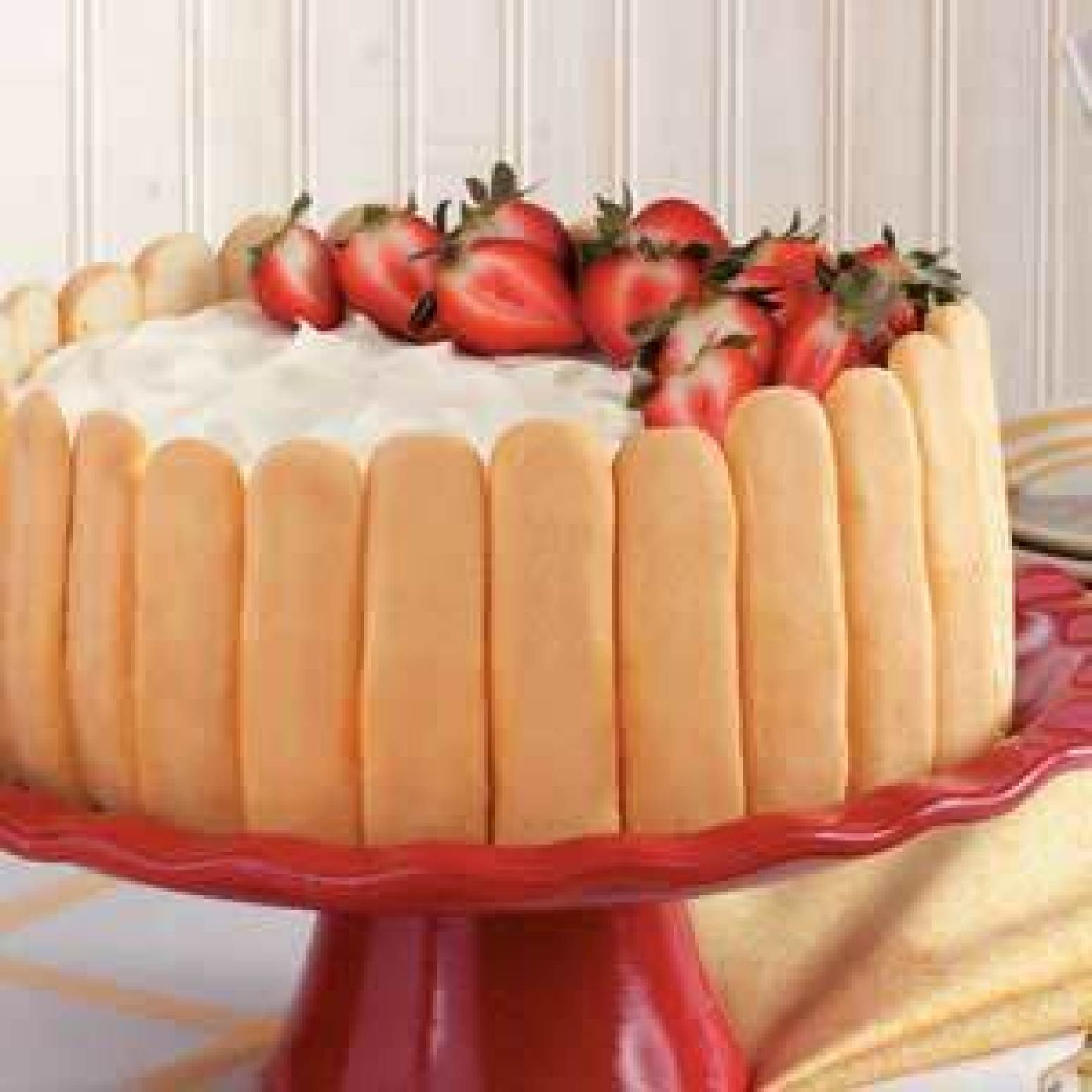 Ladyfinger Cheesecake by TOH Recipe | Just A Pinch Recipes