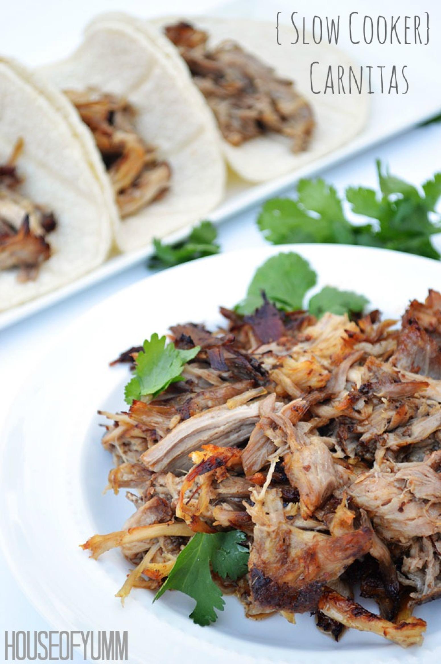 Slow Cooker} Carnitas Recipe 9 | Just A Pinch Recipes