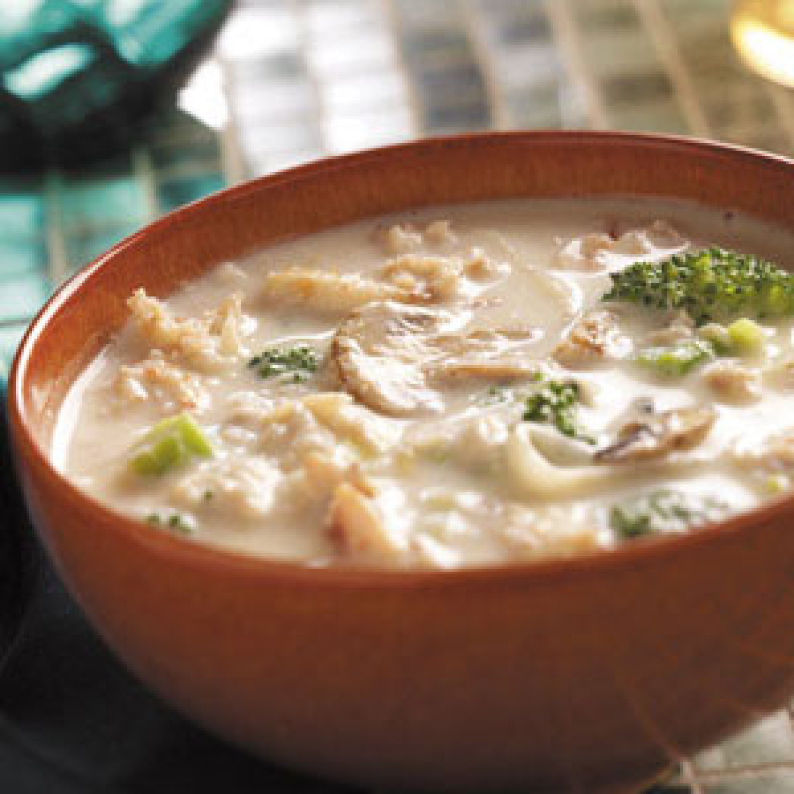 Broccoli and Crab Bisque Recipe | Just A Pinch Recipes