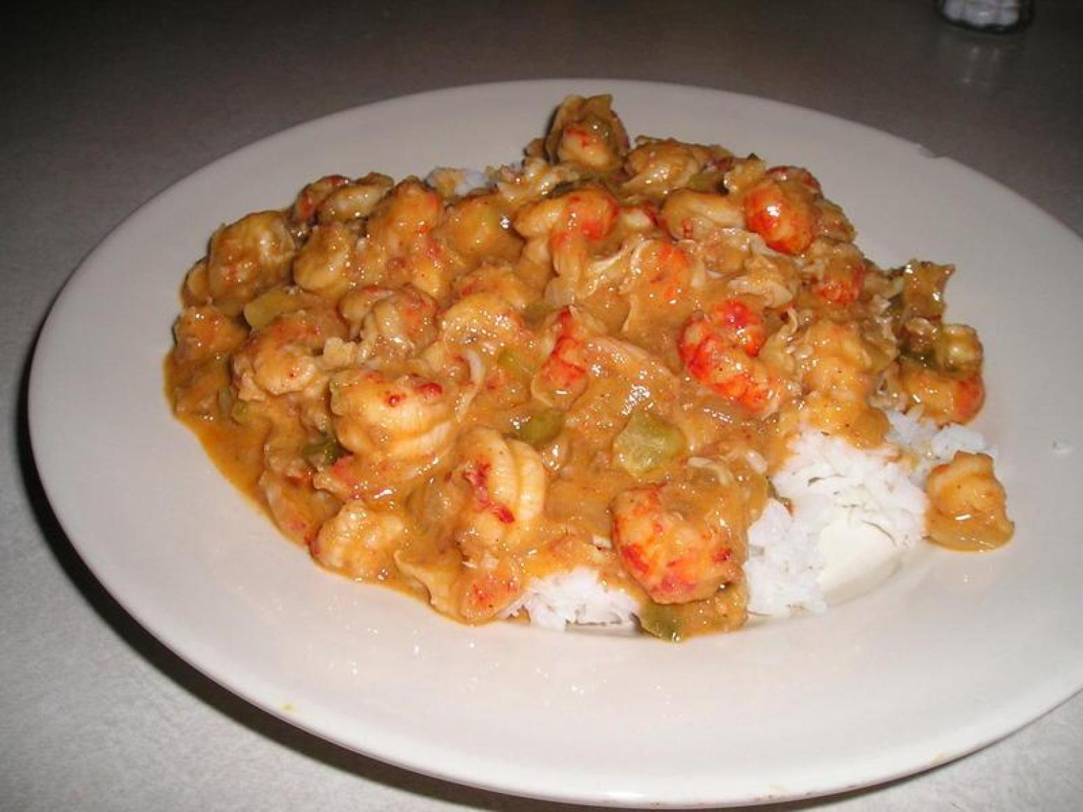 David S Louisiana Shrimp Crawfish Etouffee Recipe Just A