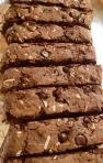 Lower Fat Triple Chocolate Coconut Almond Biscotti Recipe
