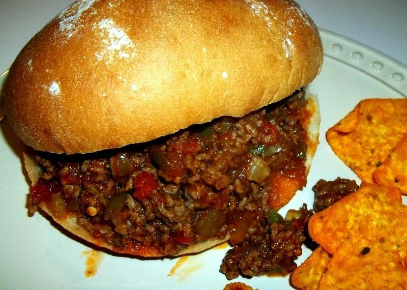 Mom's Sloppy Joes Recipe | Just A Pinch Recipes