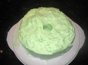 Key Lime Angel Food Cake W/ Key Lime Frosting Recipe