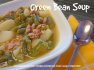 German Green Bean Soup Recipe