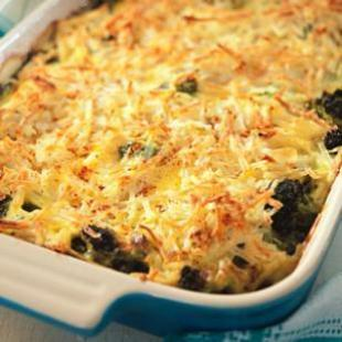 BROCCOLI, BEEF & POTATO BAKE Recipe