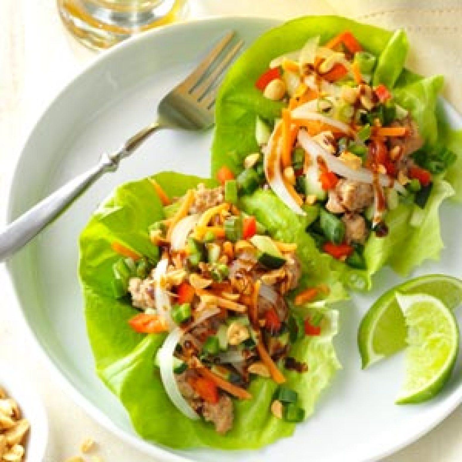 Vietnamese Pork Lettuce Wraps Recipe | Just A Pinch Recipes