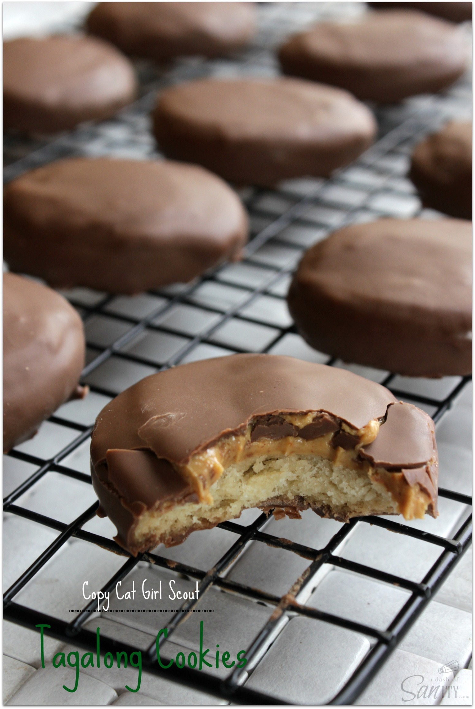 Copycat Girl Scout Tagalong Cookies Recipe | Just A Pinch Recipes