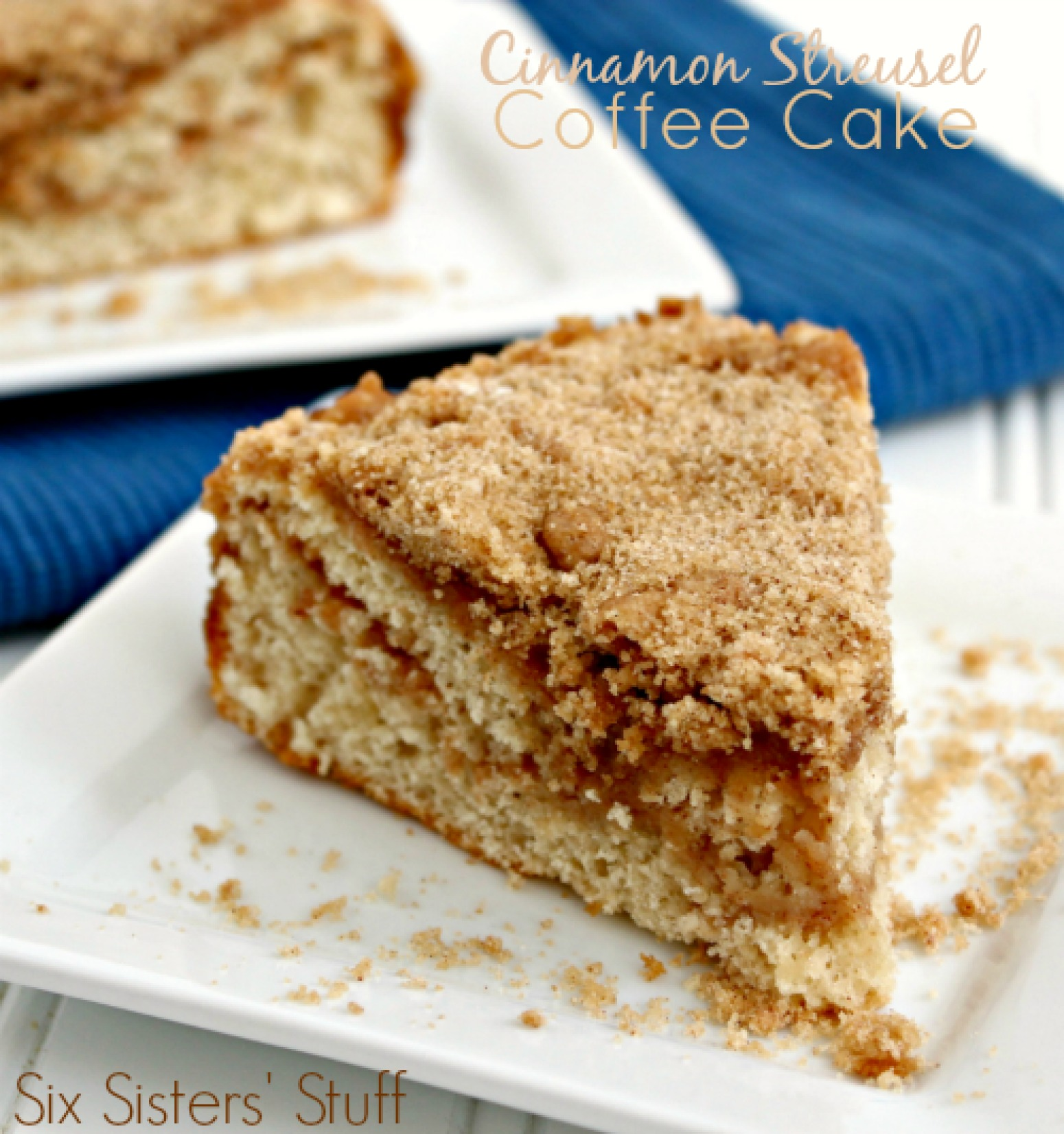 Cinnamon Streusel Coffee Cake Recipe 4 | Just A Pinch Recipes