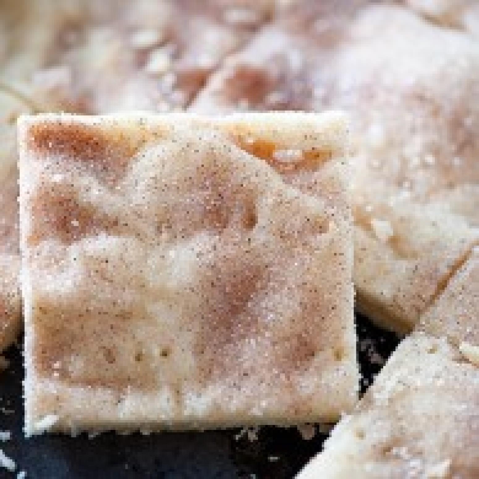 Cinnamon Sugar Shortbread Cookie Bars Recipe | Just A ...