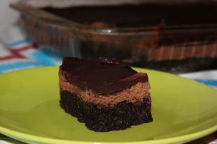 Death by Chocolate 3 Layer Brownies Recipe