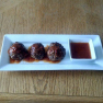 Cajun Meatballs with Cajun BBQ Sauce Recipe