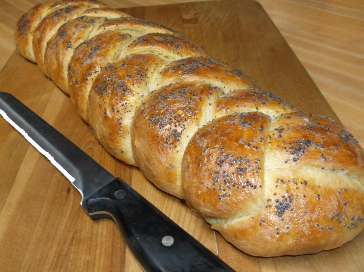 CHALLAH BREAD Braided Egg Bread Recipe | Just A Pinch Recipes