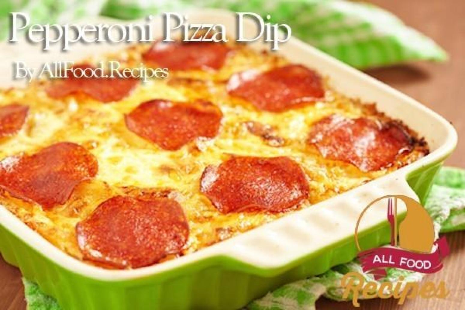 Pepperoni Pizza Dip Recipe | Just A Pinch Recipes