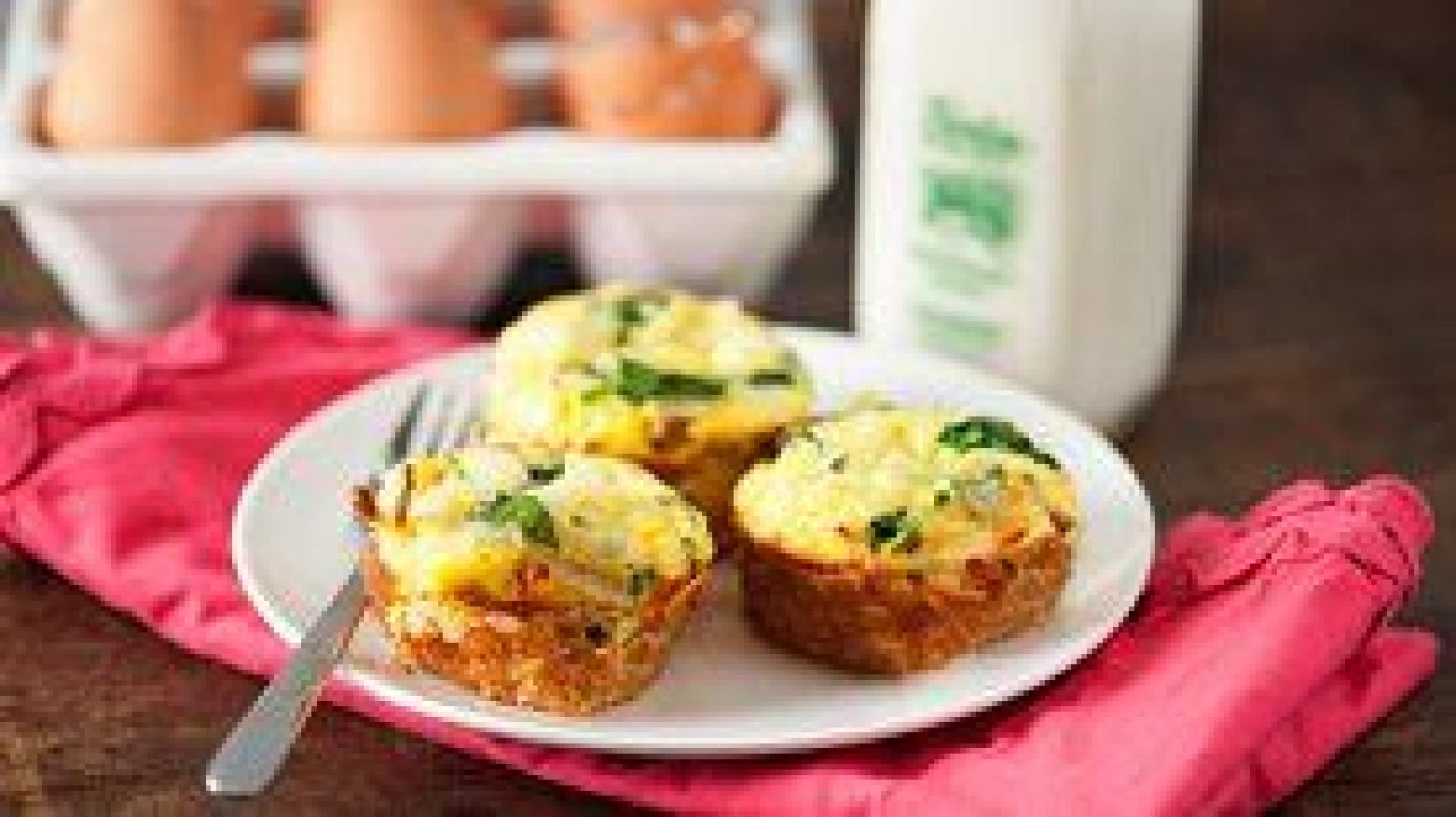 Mini Potato Quiche Cups Recipe