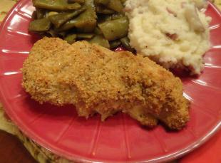 "Oven ""Fried"" Chicken"