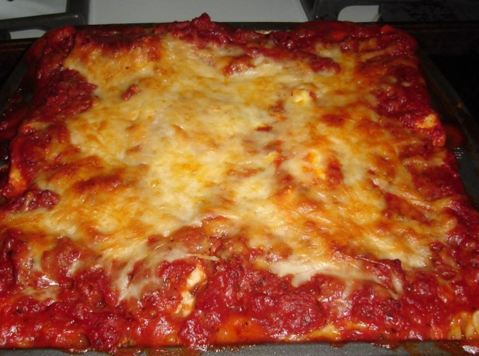 Hearty Lasagna for Two Recipe