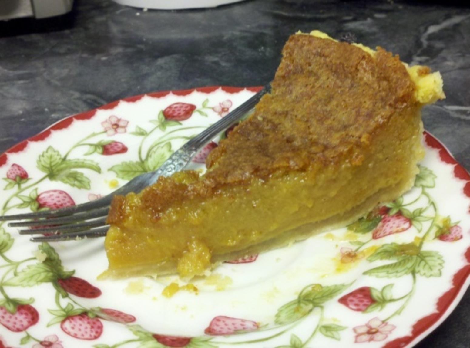 Pumpkin Chess Pie Recipe