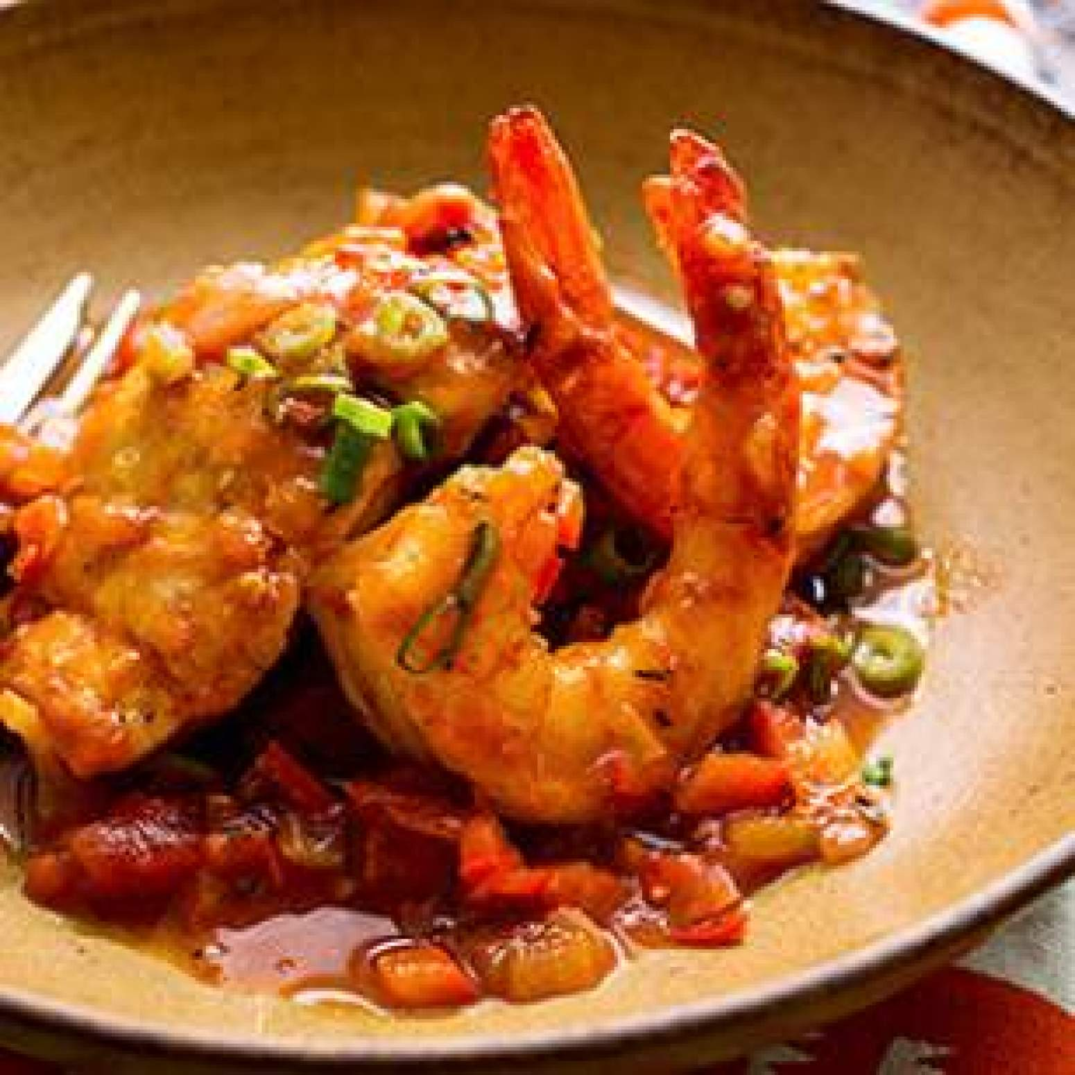 ... Snapper & Shrimp with Creole Sauce Recipe | Just A Pinch Recipes