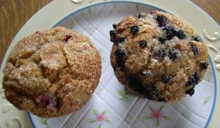 fruit buttermilk muffins