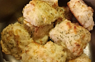 Garlic-Cheddar Biscuits Recipe