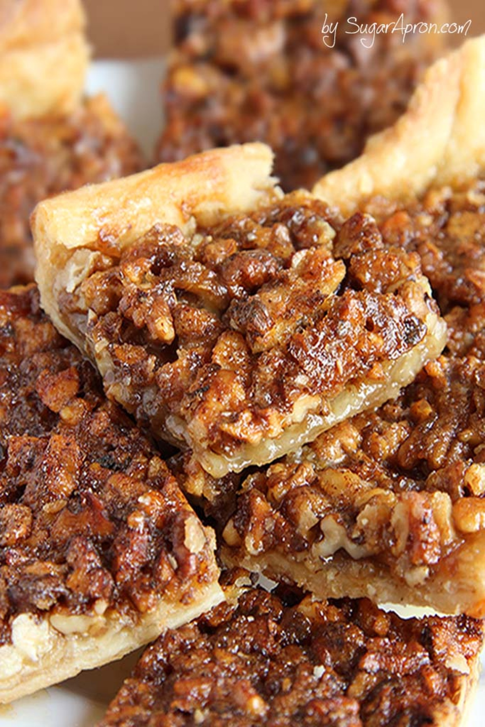 Easy Pecan Pie Bars Recipe 3 | Just A Pinch Recipes