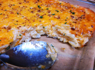 BACON CHEDDAR HASHBROWNS CASSEROLE SUPREME Recipe