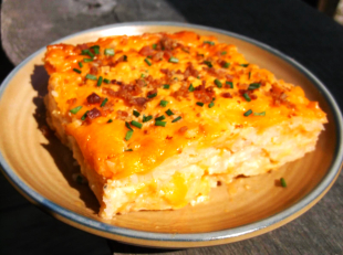 CHEESY VEGETARIAN HASHBROWNS CASSEROLE Recipe