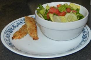 Parmesan Crusted Chicken Tenders Recipe