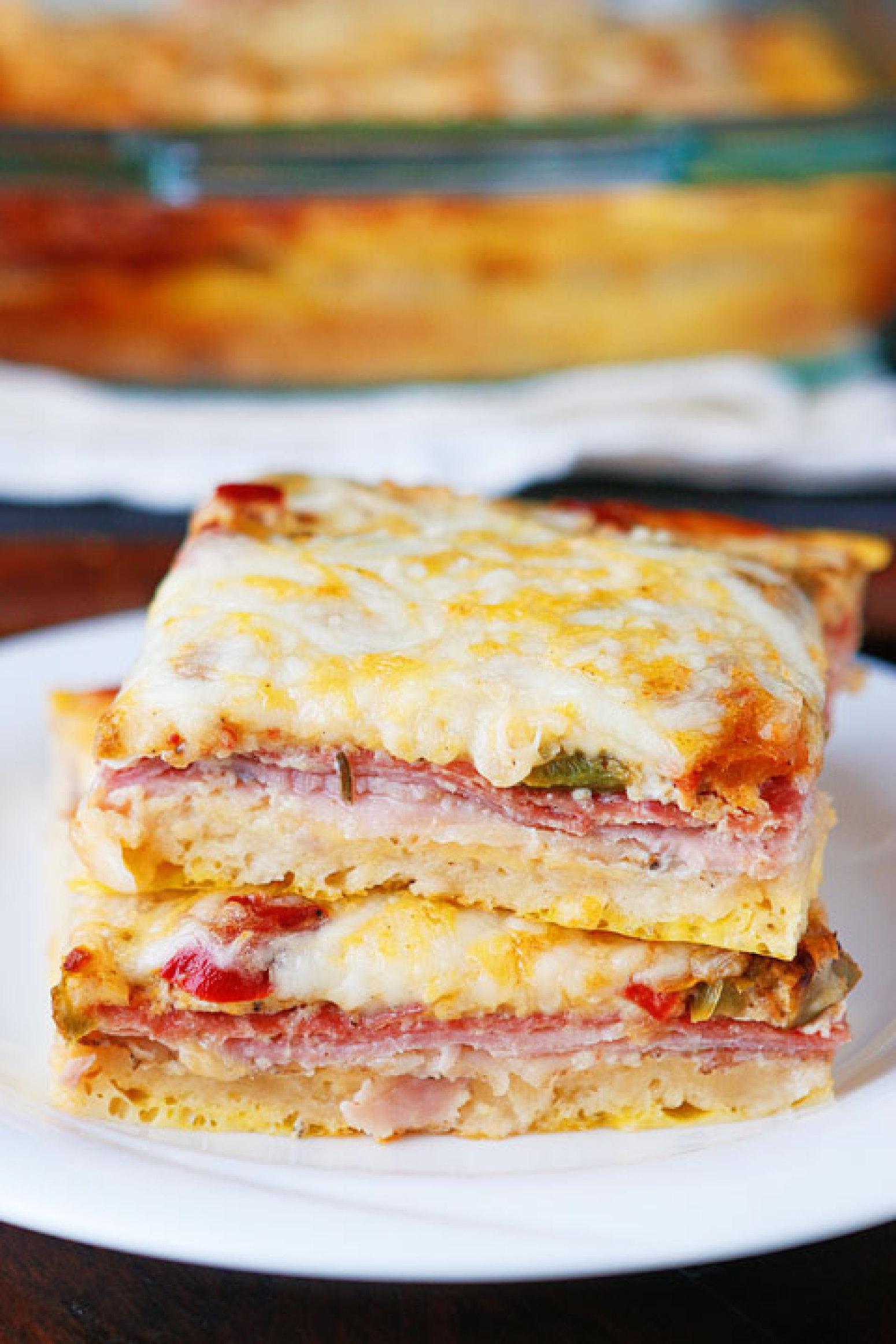 Italian Breakfast Casserole Recipe | Just A Pinch Recipes