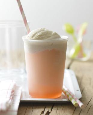 Rhubarb Float Recipe