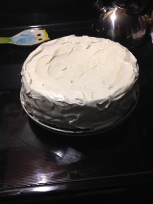 Pumpkin pie cream cake Recipe