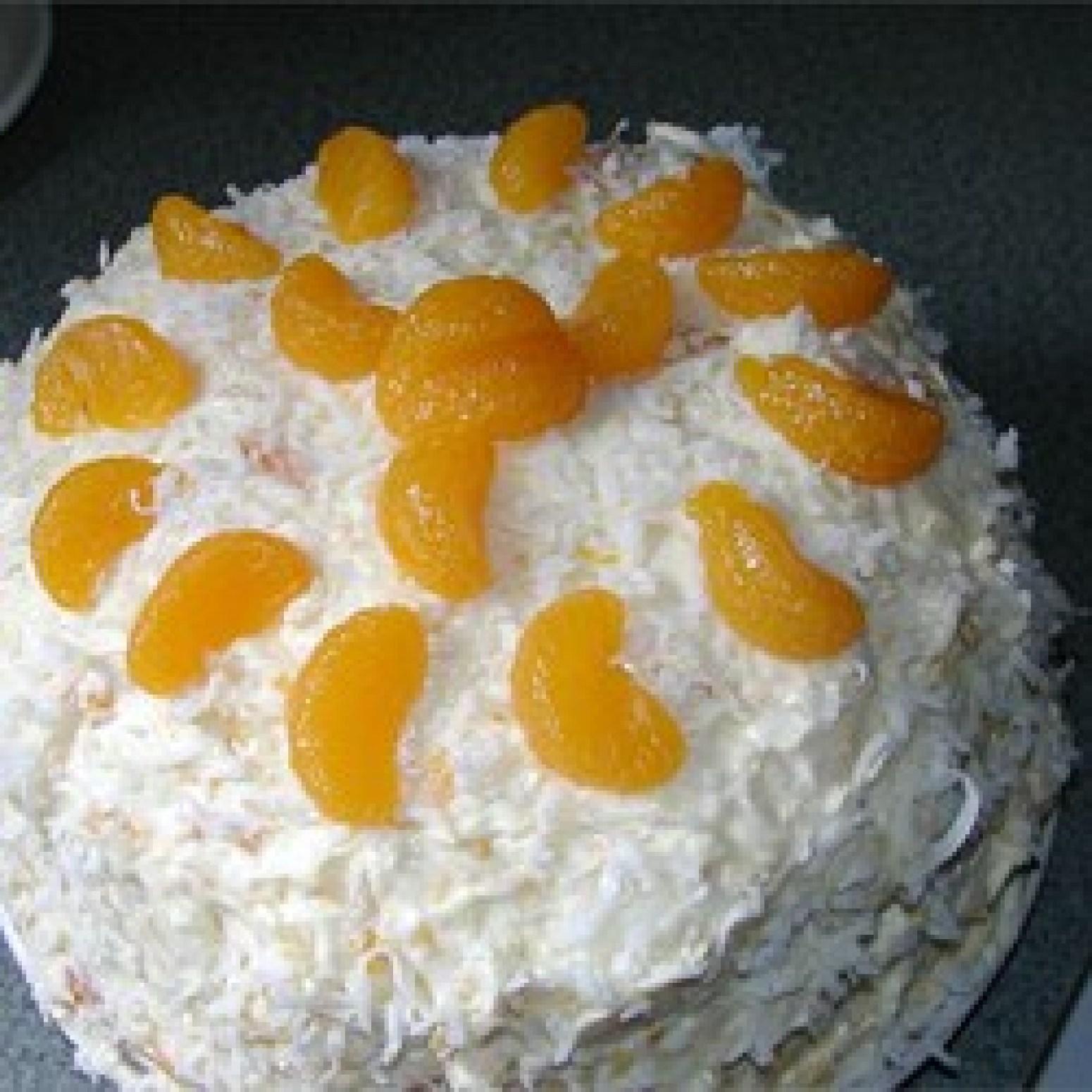 Banana Cream Cake With Yellow Cake Mix