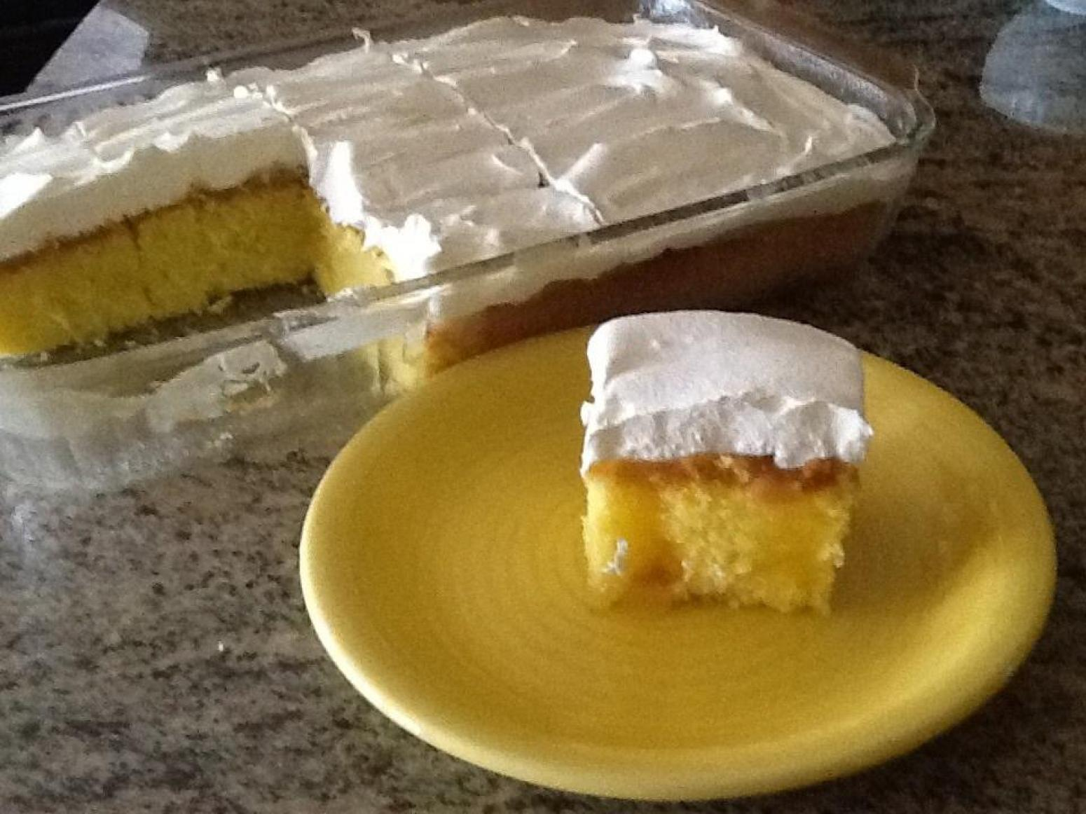 Cake Recipes Using Lemon Curd: Lemon Curd Poke Cake Recipe