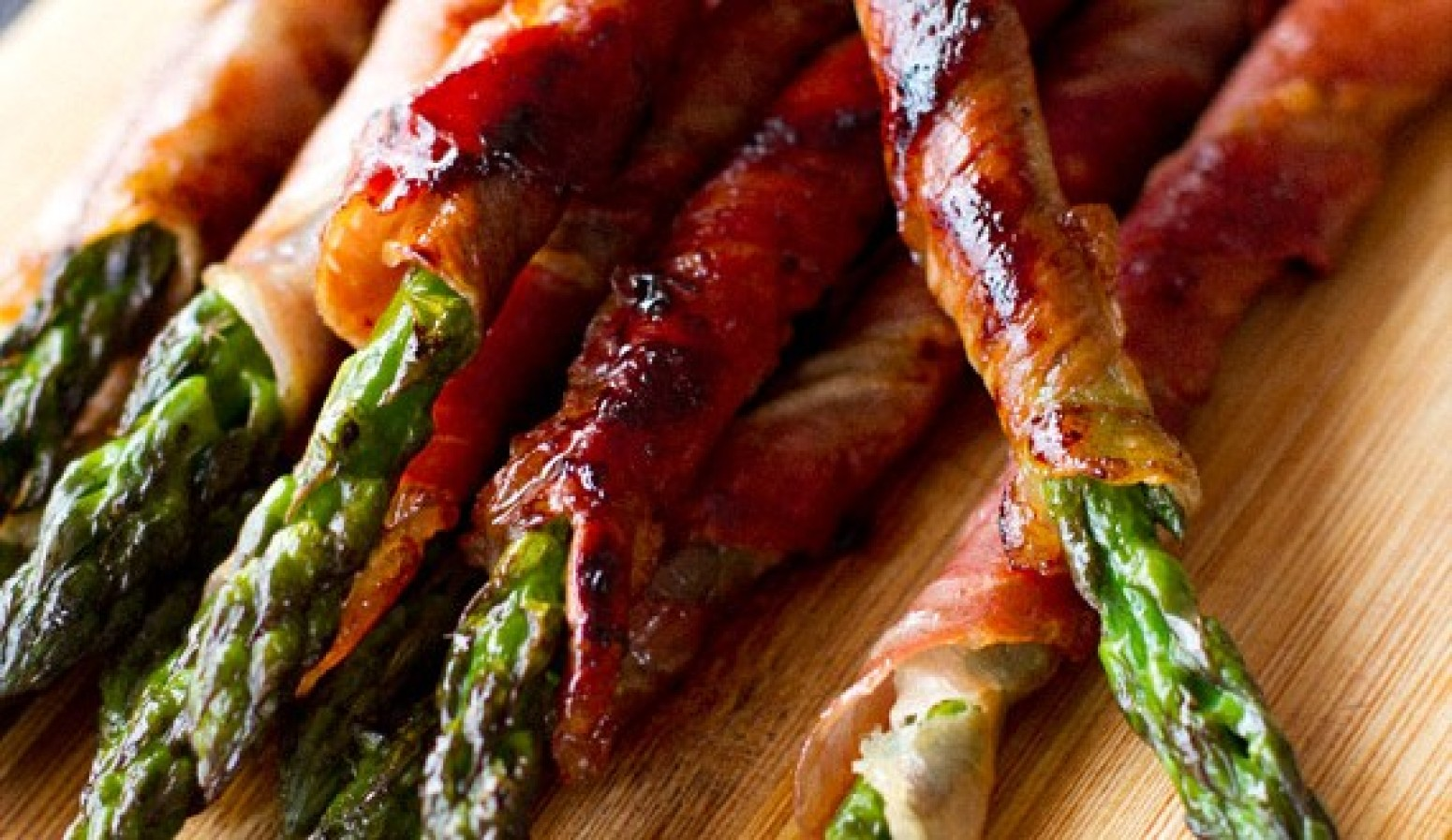 Prosciutto Wrapped Asparagus Recipe 6 | Just A Pinch Recipes
