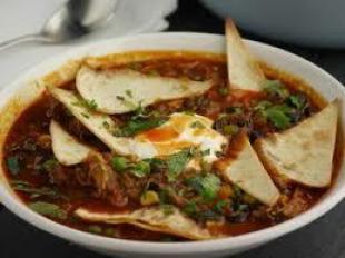 Ancho Chicken Tortilla Soup
