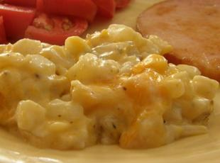 Cheesy Baked Hash Brown Casserole Recipe