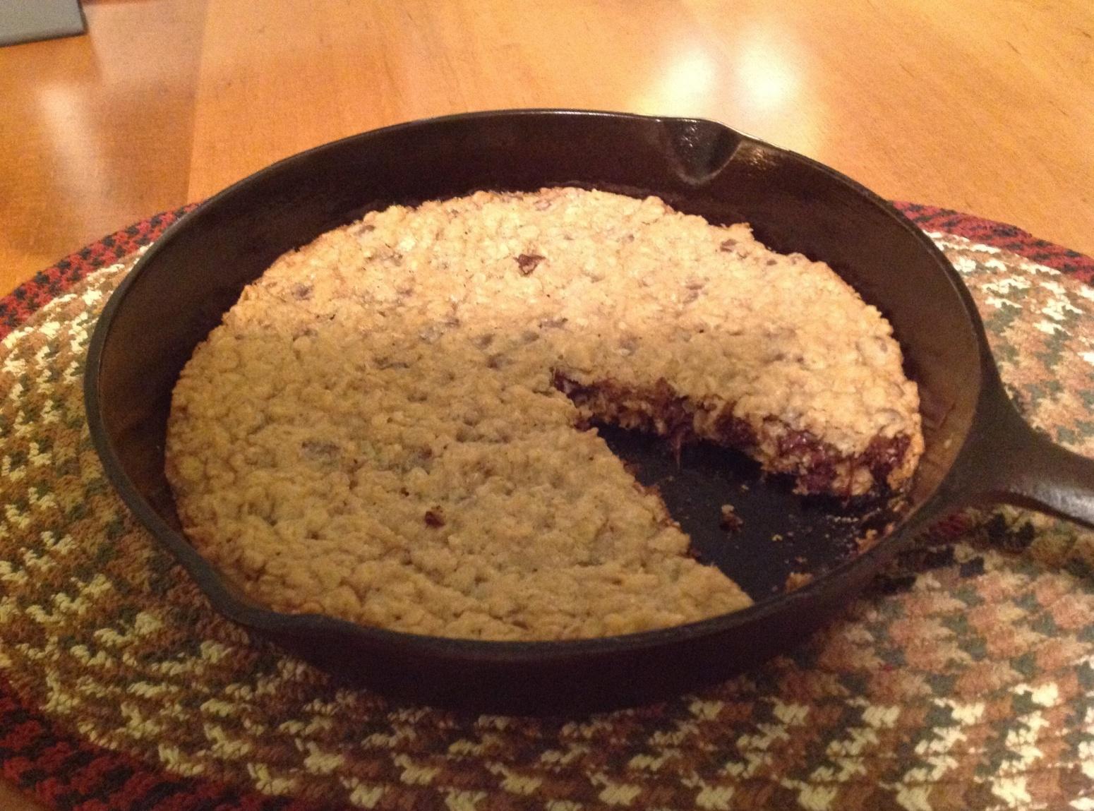 Cast Iron Skillet Cookies Recipe