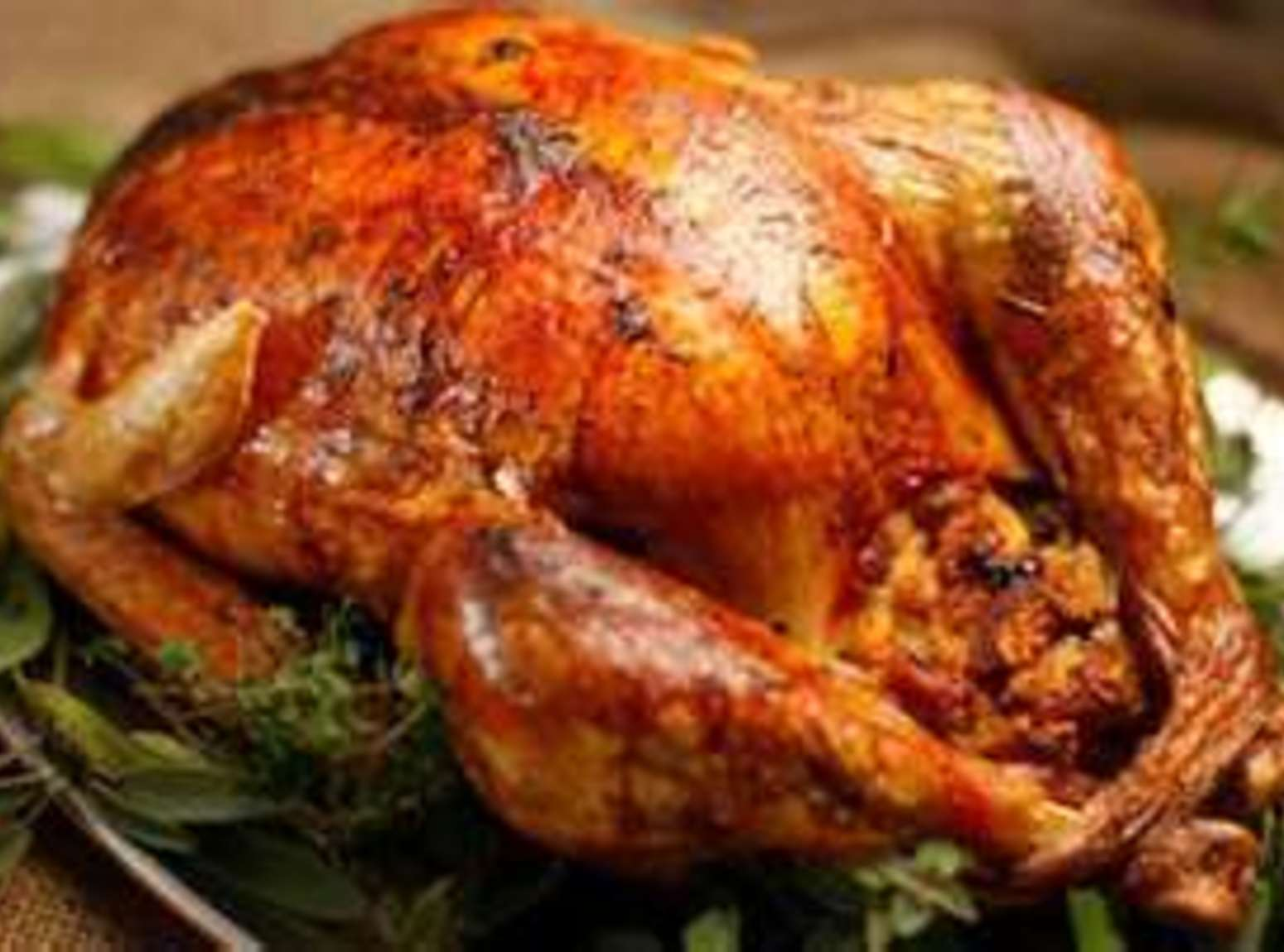 Citrus and Herb Brined Roasted Turkey with Gravy Recipe | Just A Pinch ...