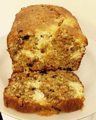 Carrot Nut Cheese cake bread by Noreen Recipe