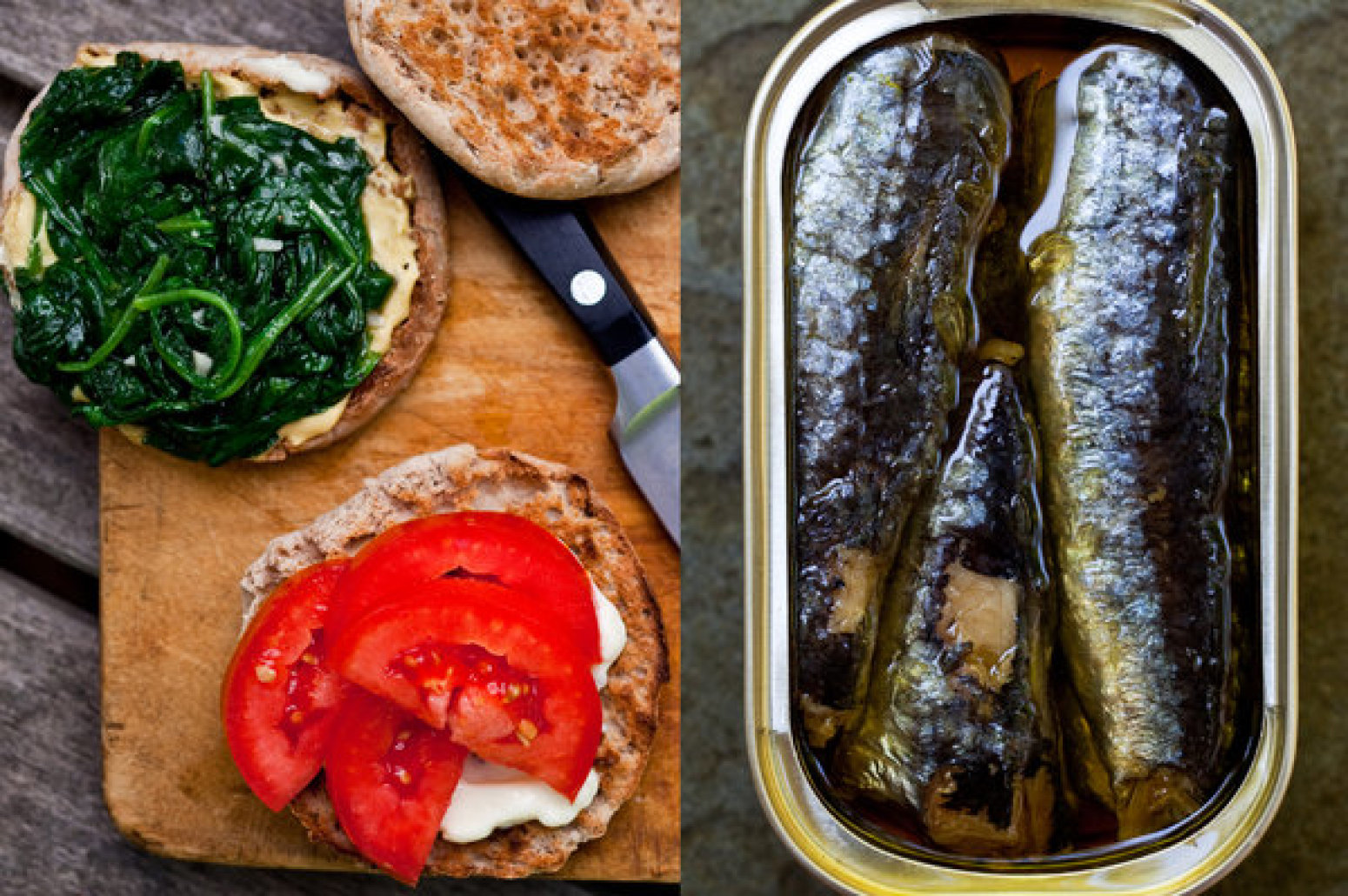 Spinach and sardine sandwich recipe just a pinch recipes for Sardine lunch ideas