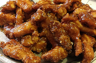 Amy's Sweet & Spicy Sesame Chicken Recipe