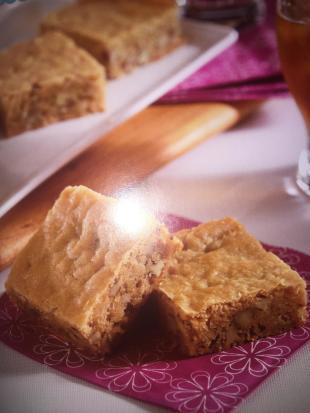Coconut Blondies Recipe