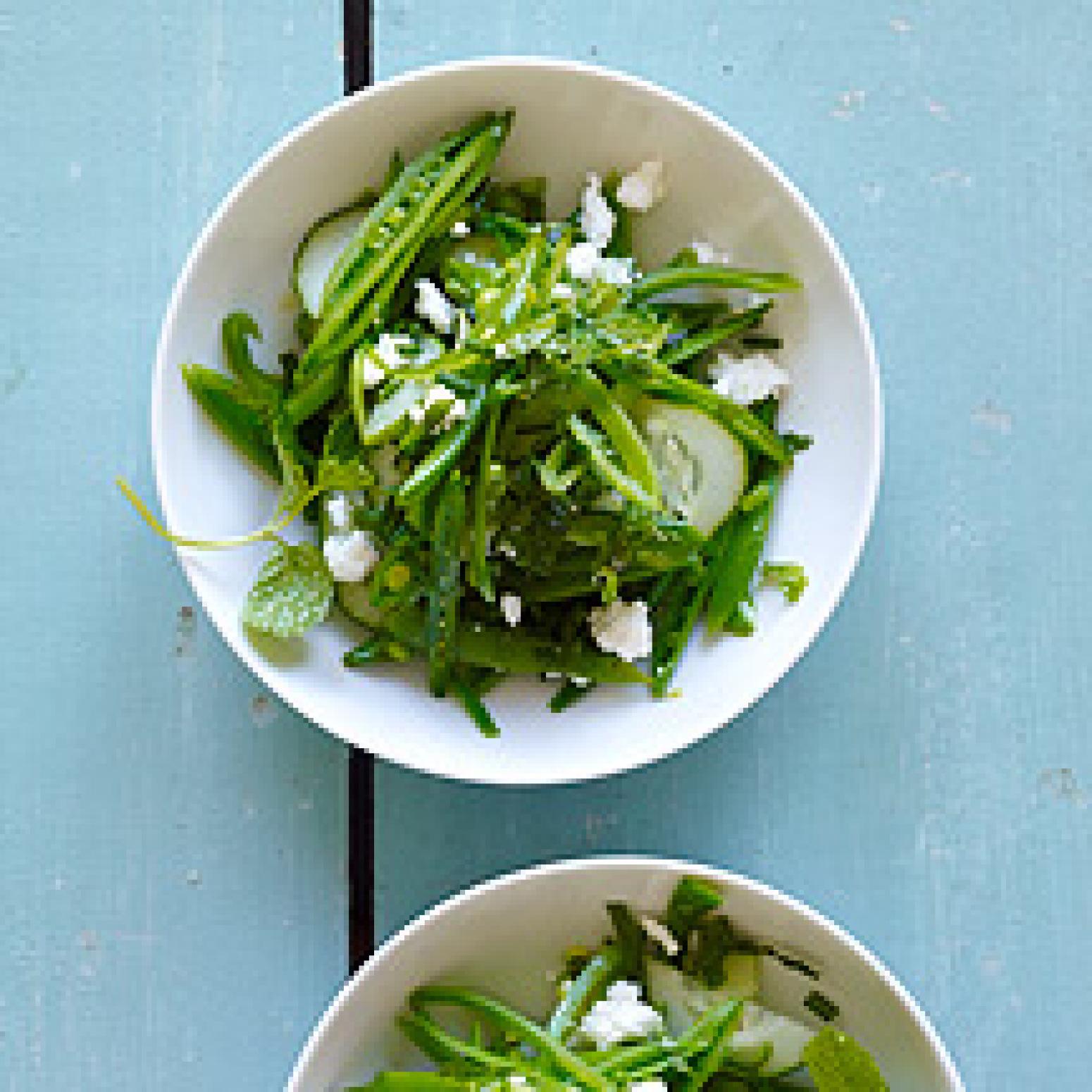 Lemony Sugar Snap Pea Salad Recipe   Just A Pinch Recipes