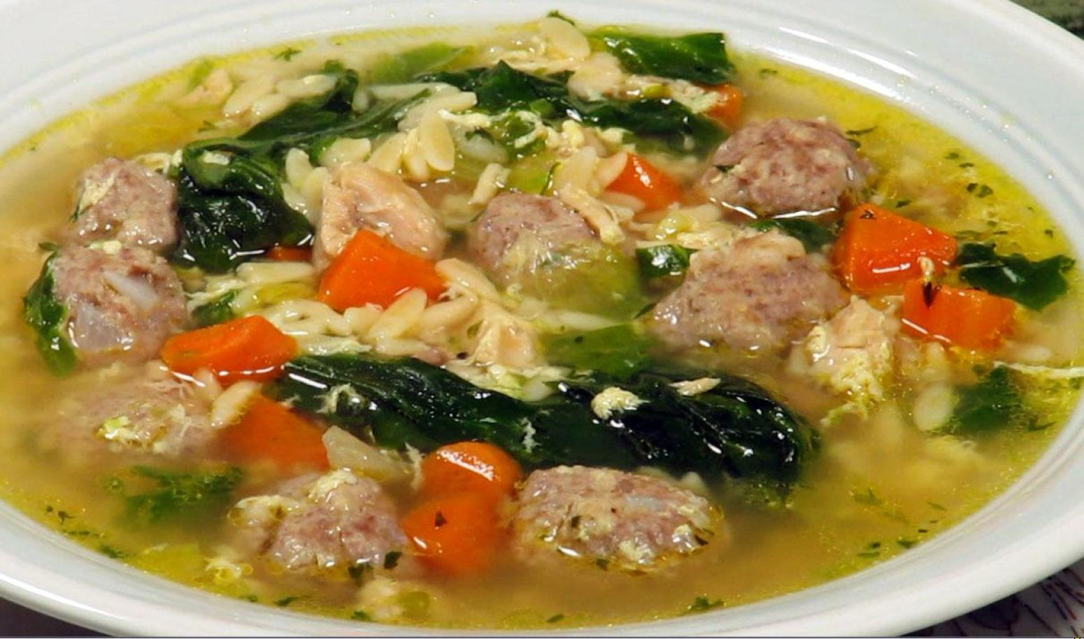 Italian Wedding Soup Recipe 2 | Just A Pinch Recipes