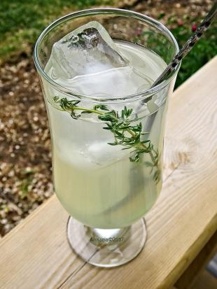 Lemonade with Lime and Thyme Recipe