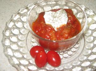 Tomato Bread Pudding-Great Grandma's recipe