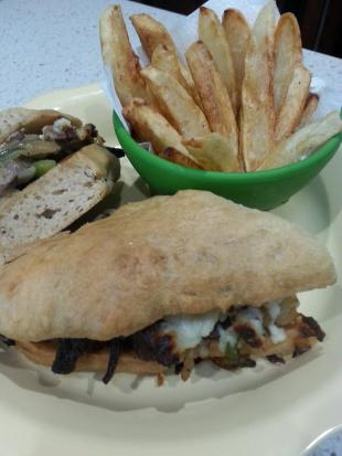 Steak Sandwiches on Ciabotta Rolls Recipe