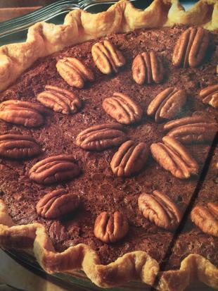 Fudge Pecan Pie Recipe