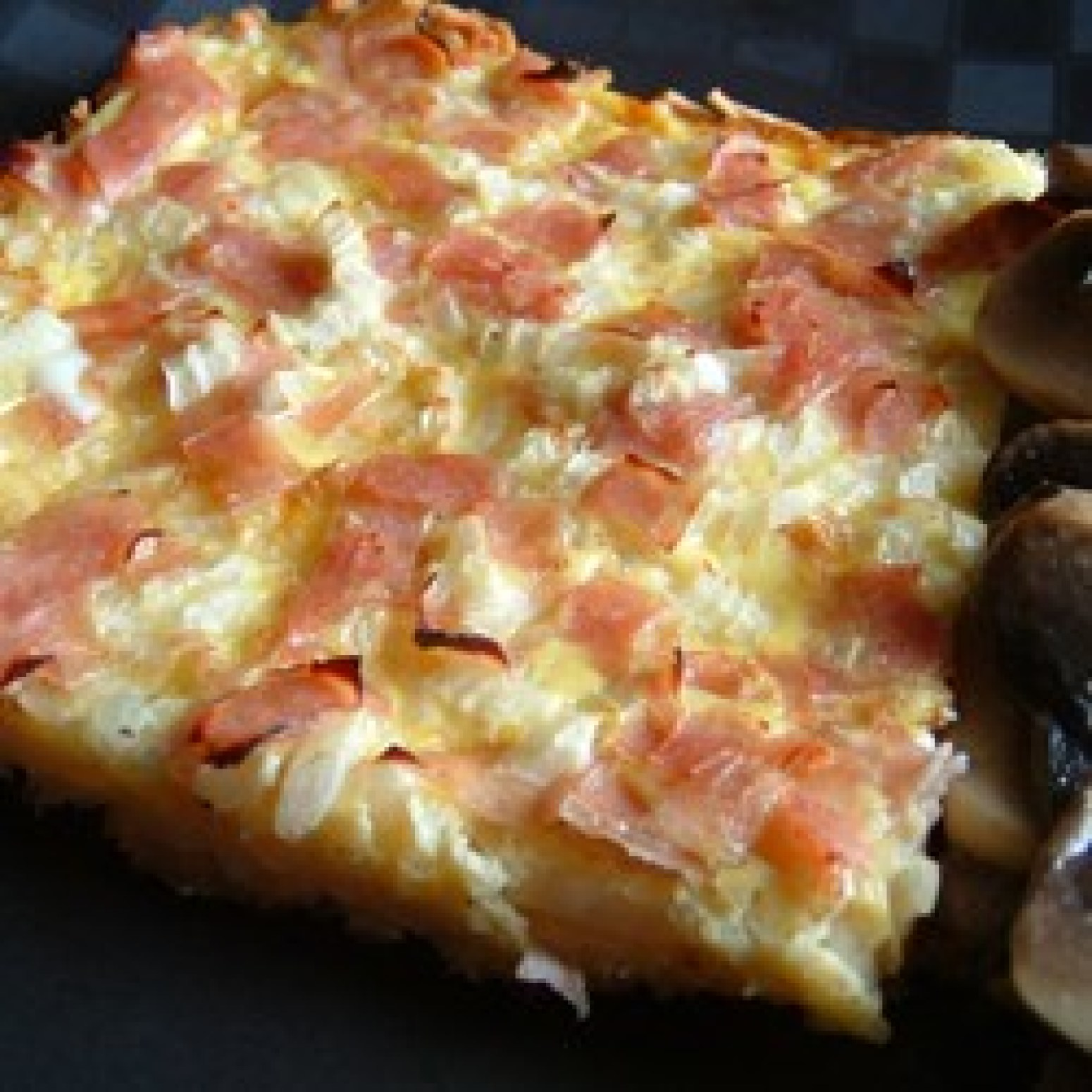 Ham and Cheese Breakfast Quiche Recipe | Just A Pinch Recipes